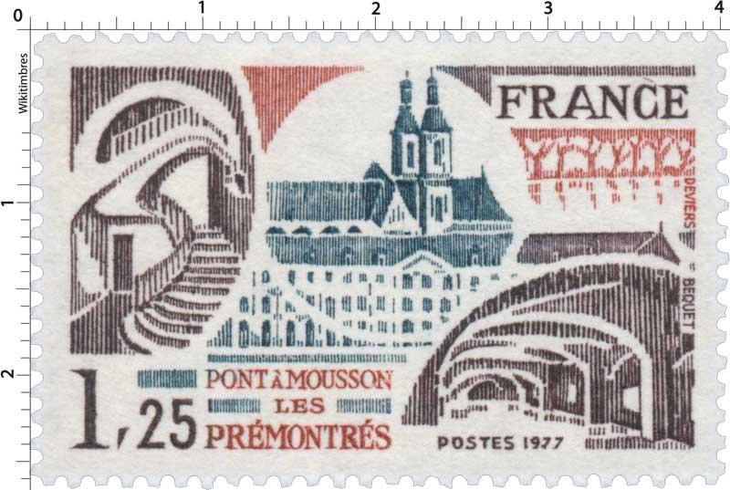 1977 PONT À MOUSSON LES PRÉMONTRÉS