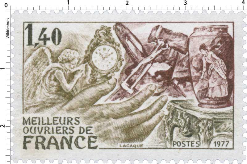 1977 MEILLEURS OUVRIERS DE FRANCE