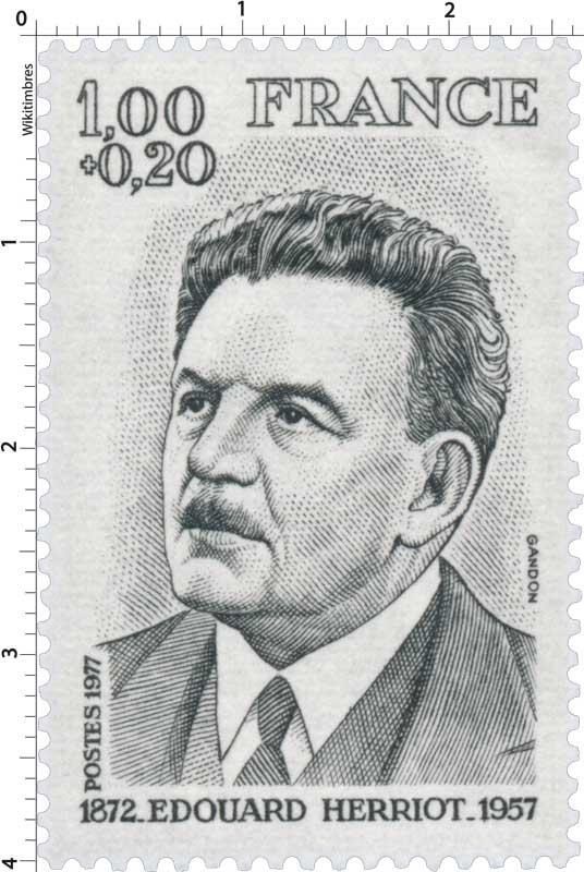 1977 ÉDOUARD HERRIOT 1872-1957