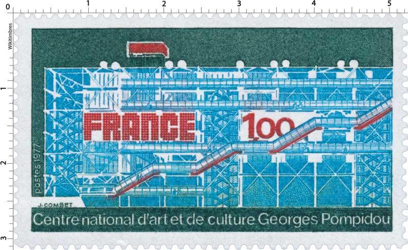 1977 Centre national d'art et de culture Georges Pompidou