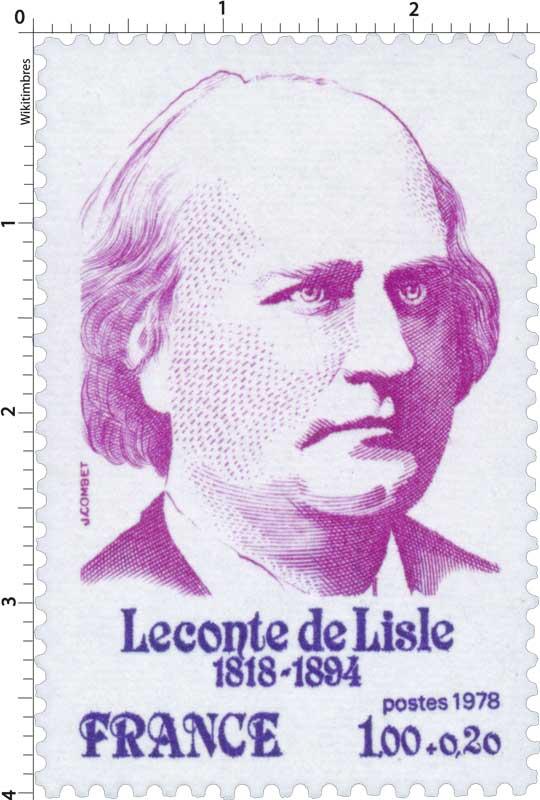 1978 Leconte de Lisle 1818-1894
