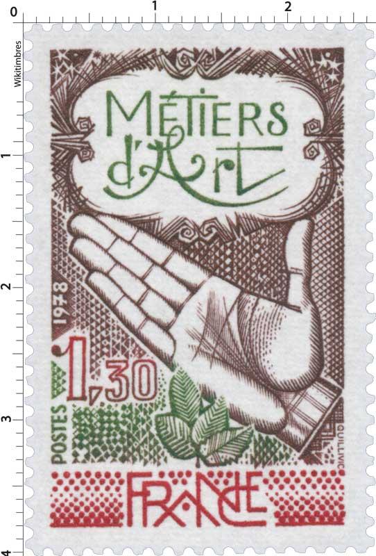 1978 MÉTIERS D'ART