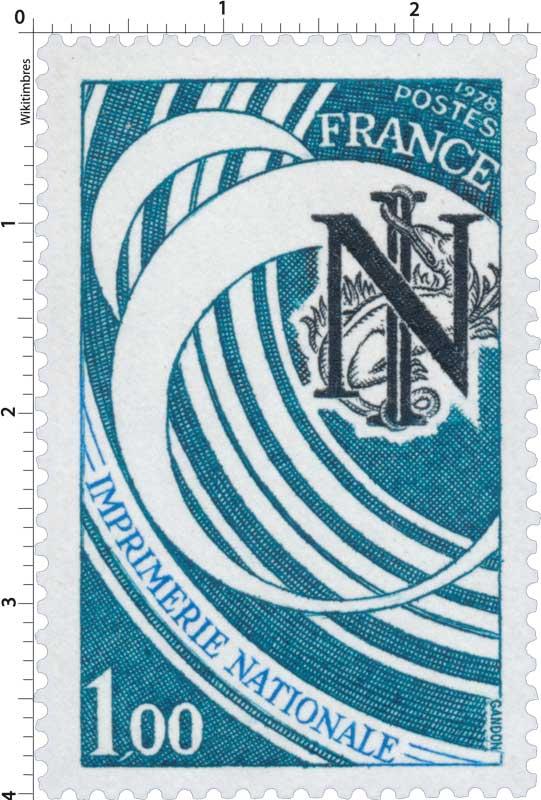 1978 IMPRIMERIE NATIONALE