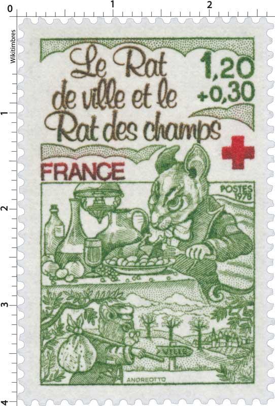 1978 Le Rat de ville et le Rat des champs