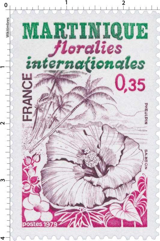 1979 MARTINIQUE floralies internationales