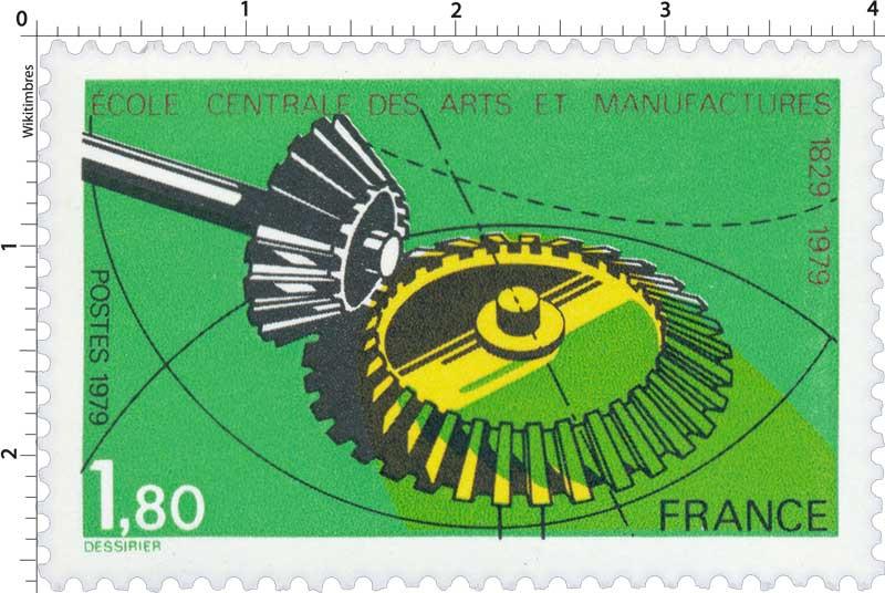 1979 ÉCOLE CENTRALE DES ARTS ET MANUFACTURES 1829-1979