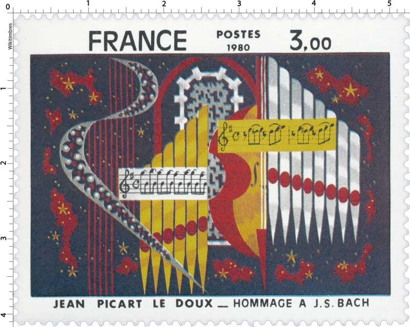 1980 JEAN PICART LE DOUX HOMMAGE À J.S. BACH
