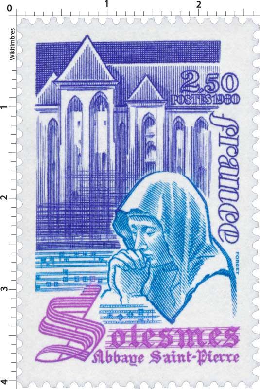 1980 Solesmes abbaye Saint-Pierre