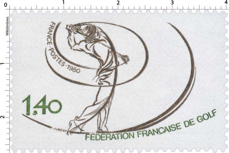 1980 FÉDÉRATION FRANÇAISE DE GOLF