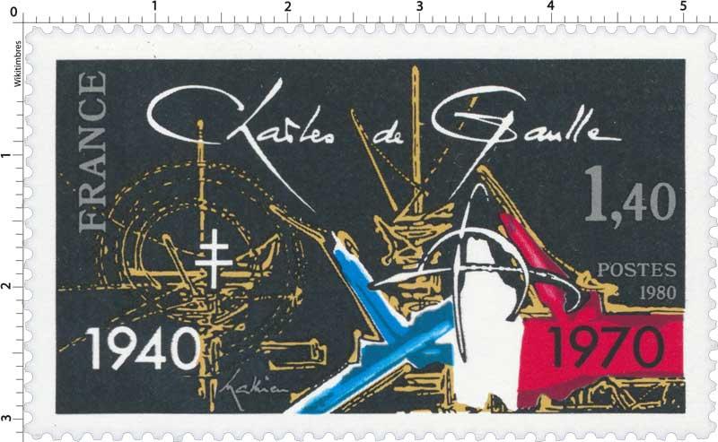 1980 Charles de Gaulle 1940-1970