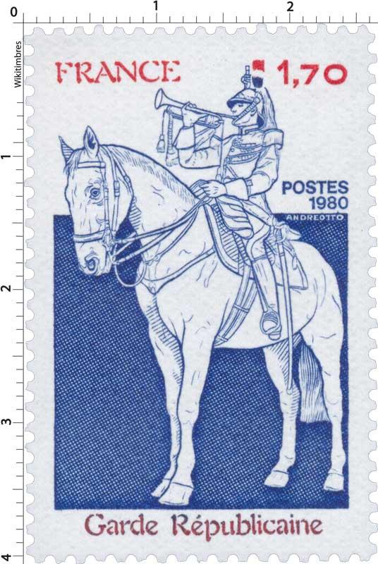 1980 Garde Républicaine