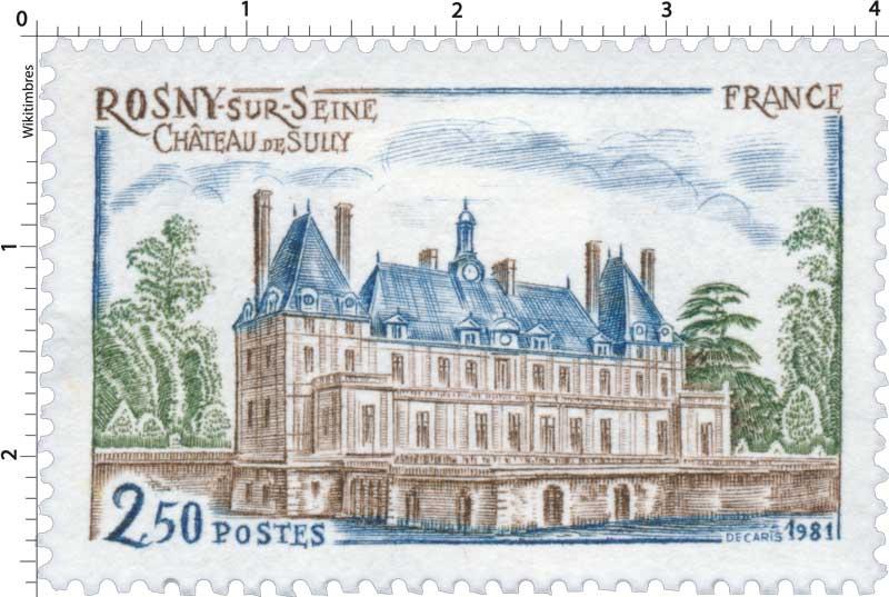 1981 ROSNY-SUR-SEINE CHÂTEAU DE SULLY