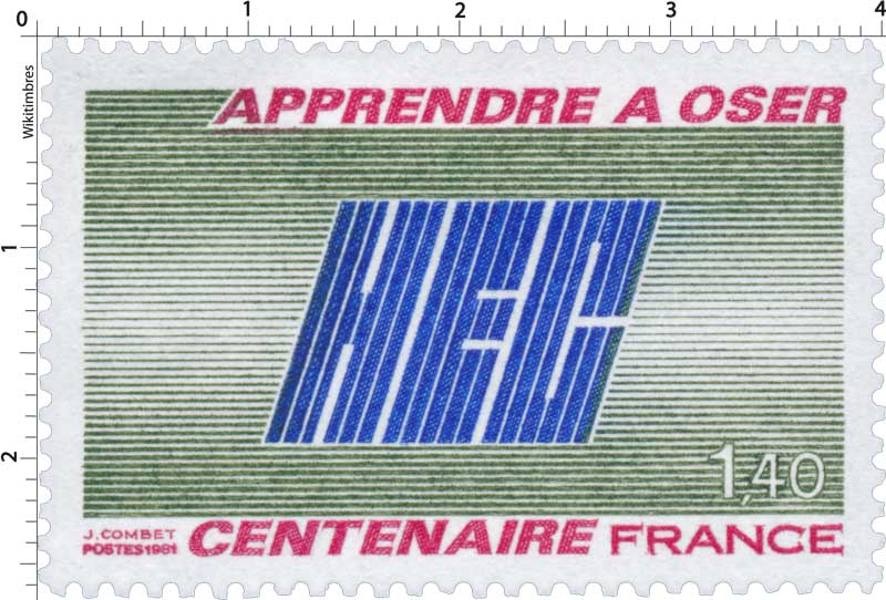 1981 APPRENDRE A OSER HEC CENTENAIRE