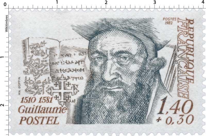 1982 Guillaume POSTEL 1510-1581