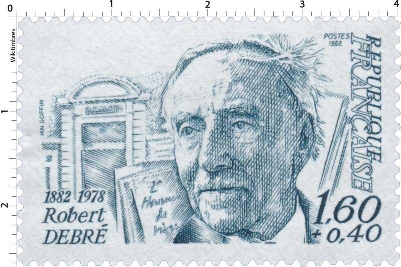 1982 Robert DEBRÉ 1882-1978