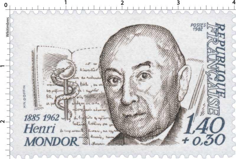 1982 Henri MONDOR 1885-1962