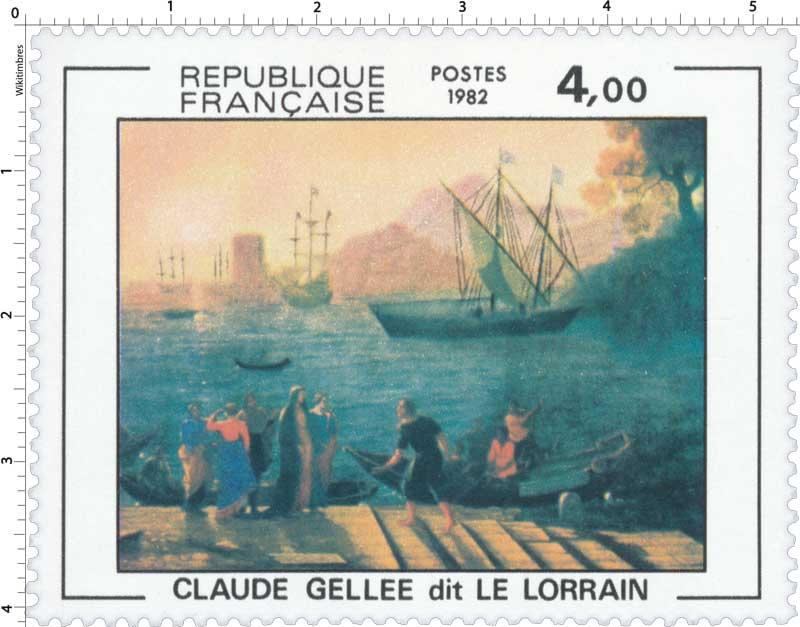 1982 CLAUDE GELLÉE dit LE LORRAIN
