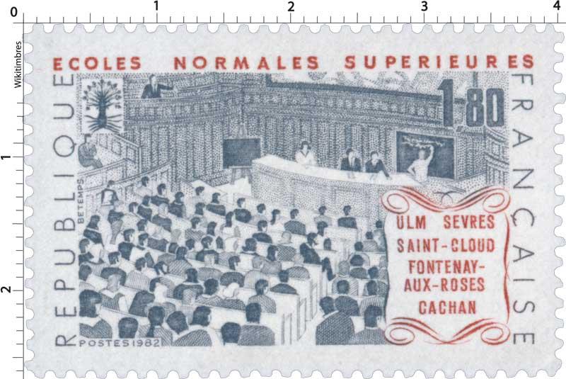 1982 ÉCOLES NORMALES SUPÉRIEURE ULM SÈVRES SAINT-CLOUD FONTENAY-AUX-ROSES CACHAN