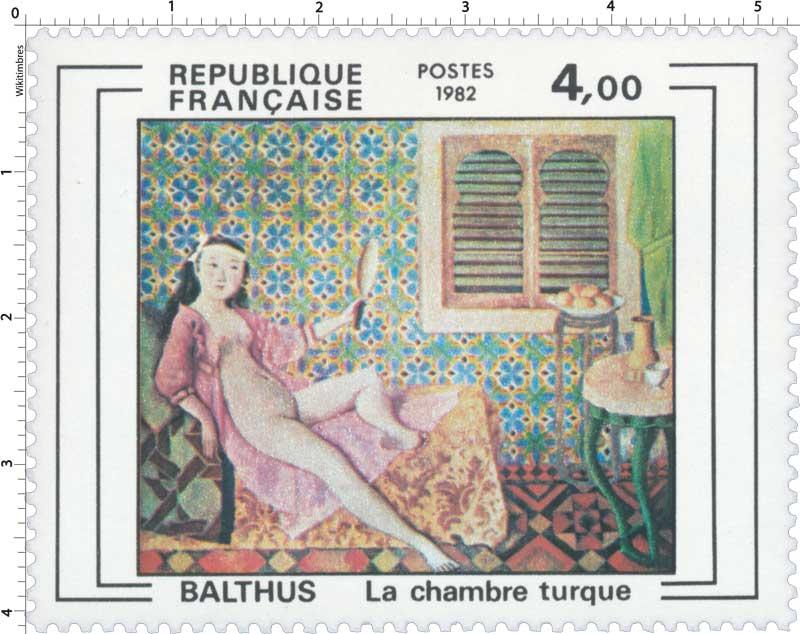 1982 BALTHUS La chambre turque