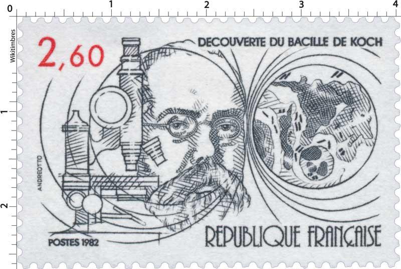 1982 DÉCOUVERTE DU BACILLE DE KOCH