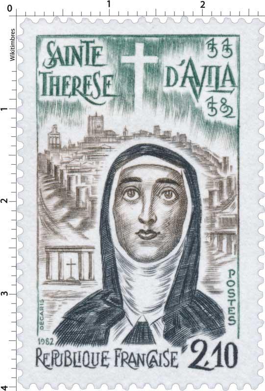 1982 SAINTE THÉRÈSE D'AVILA 1515-1582