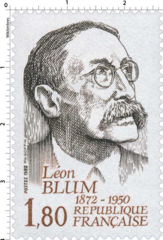 1982 Léon BLUM 1872-1950