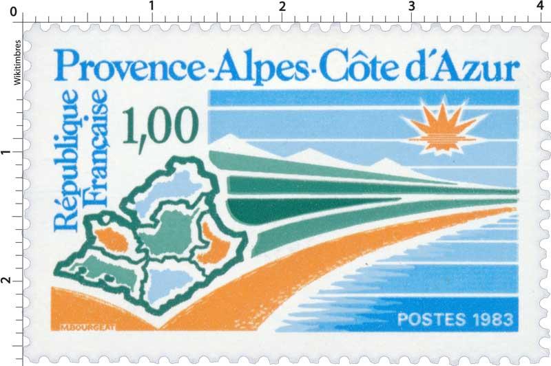 1983 Provence-Alpes-Côte d'Azur