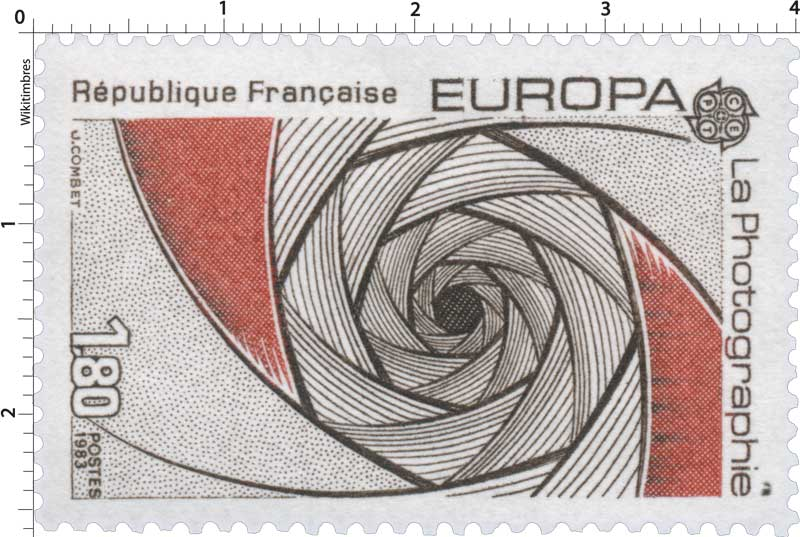 1983 EUROPA CEPT La Photographie