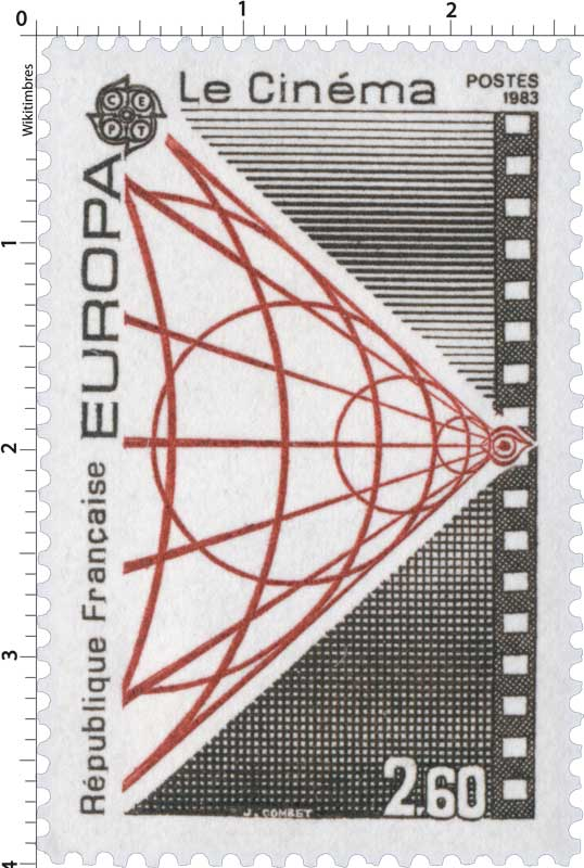 1983 EUROPA CEPT Le Cinéma