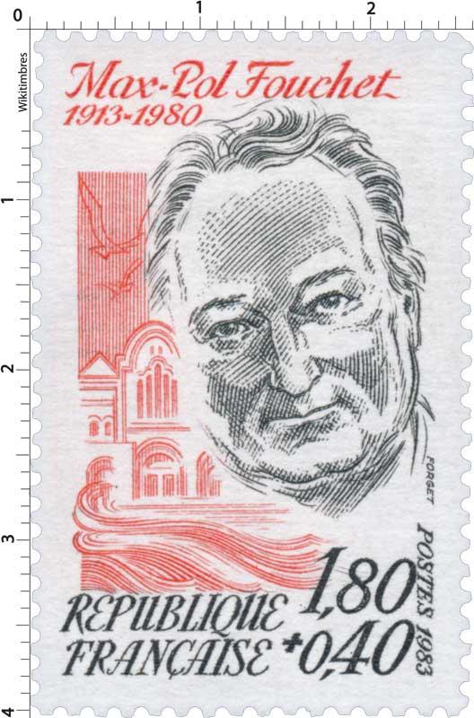 1983 Max-Pol Fouchet 1913-1980