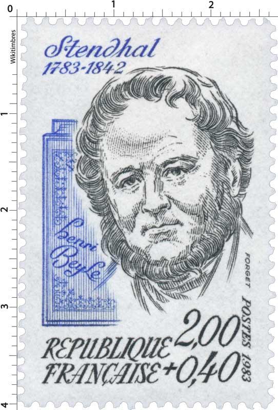 1983 Stendhal 1783-1842