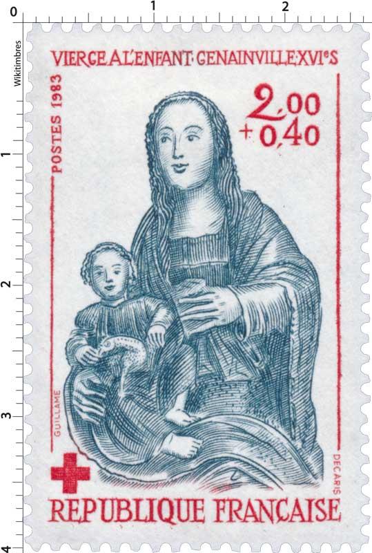 1983 VIERGE À L'ENFANT - GENAINVILLE - XVIe S.