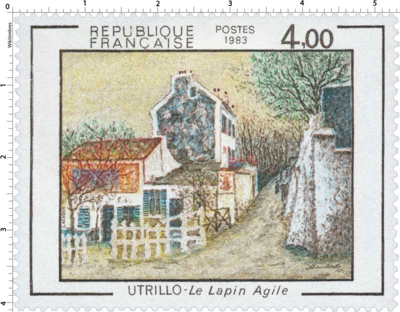 1983 UTRILLO - Le Lapin Agile