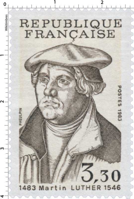 1983 Martin LUTHER 1483-1546