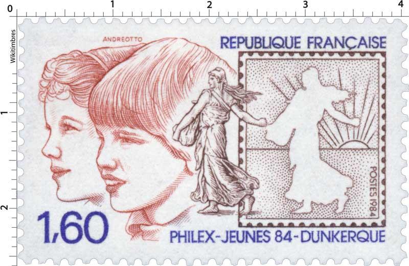 1984 PHILEX-JEUNES 84 - DUNKERQUE