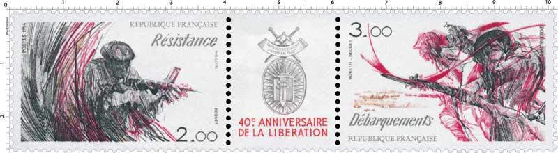 40e ANNIVERSAIRE DE LA LIBÉRATION