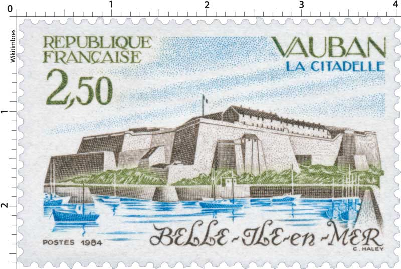 1984 VAUBAN LA CITADELLE Belle-ile-en-Mer