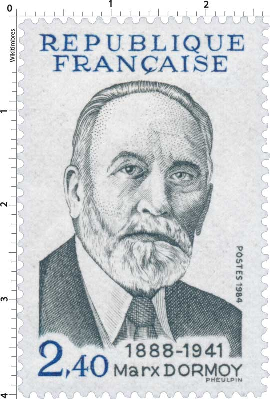 1984 Marx Dormoy 1888-1941