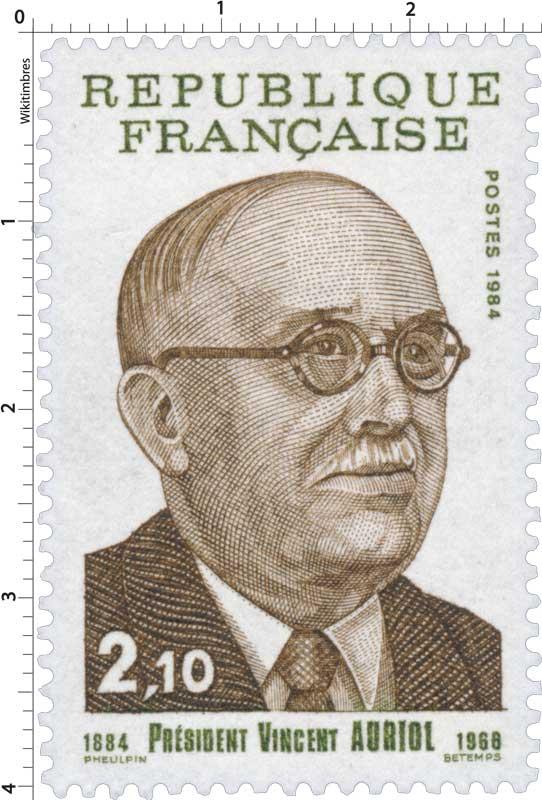 timbre - président de la république René COTY