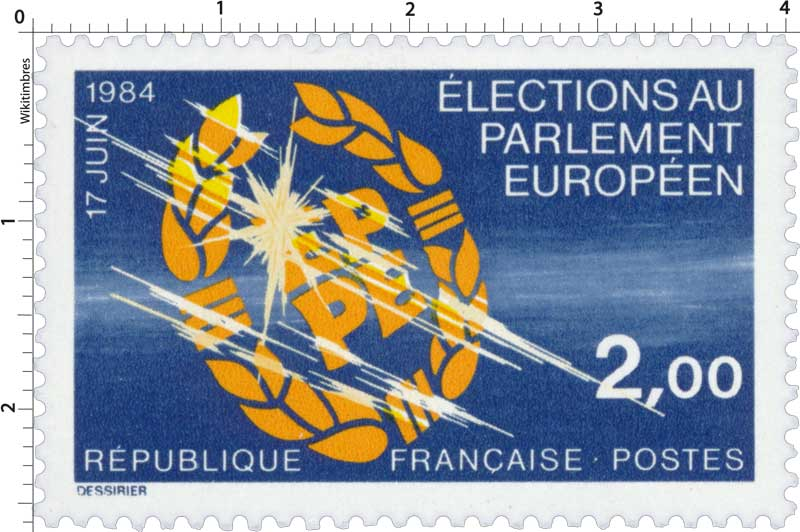 17 juin 1984 ÉLECTIONS AU PARLEMENT EUROPÉEN