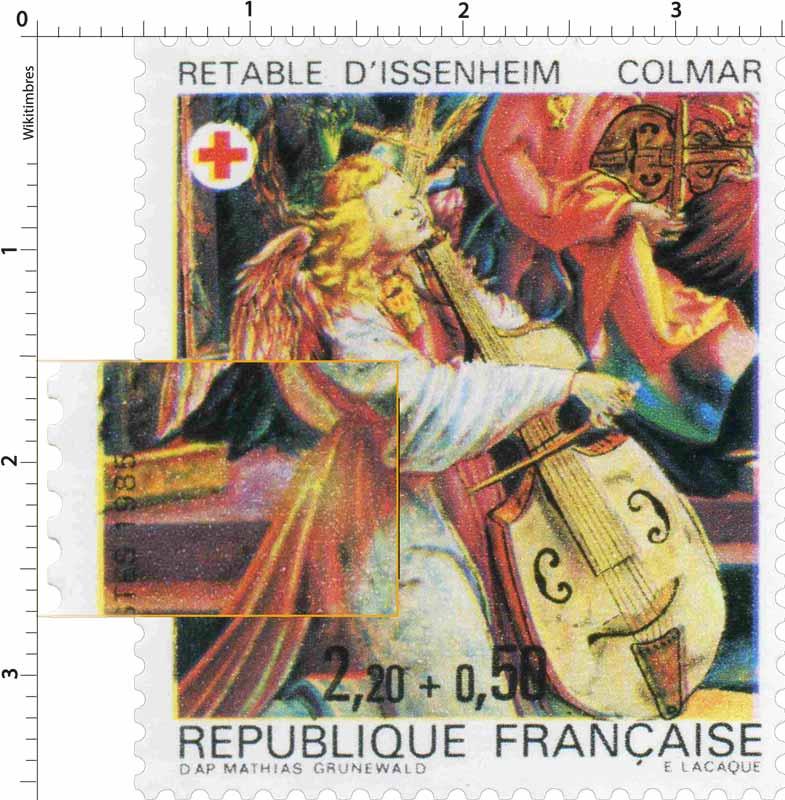 1985 RETABLE D'ISSENHEIM COLMAR