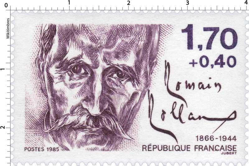 1985 Romain Rolland 1866-1944