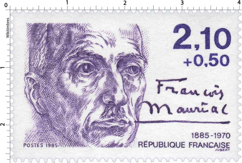 1985 François Mauriac 1885-1970