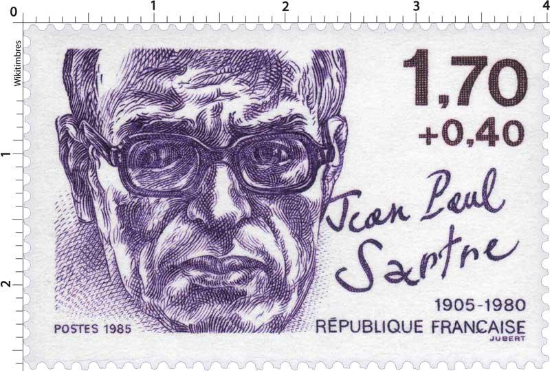 1985 Jean Paul Sartre 1905-1980