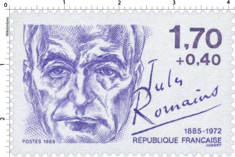 1985 Jules Romains 1885-1972
