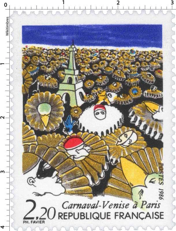 1986 Carnaval-Venise à Paris