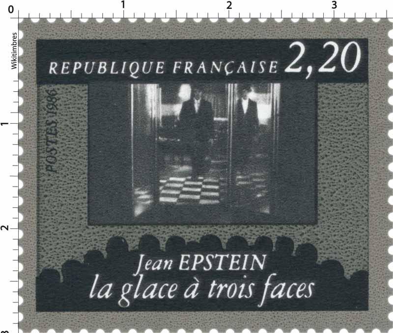 1986 Jean Epstein la glace à trois faces