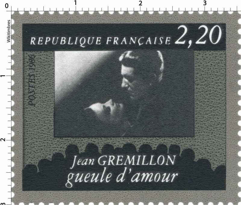 1986 Jean GREMILLON gueule d'amour