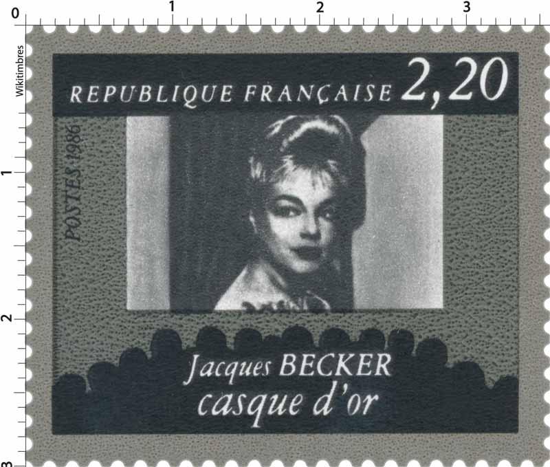 1986 Jacques BECKER casque d'or