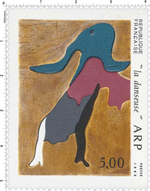 1986 la danseuse ARP